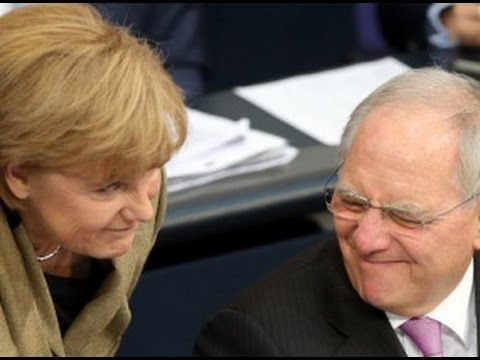 Wie Merkel und Schuble das Volk anlgen