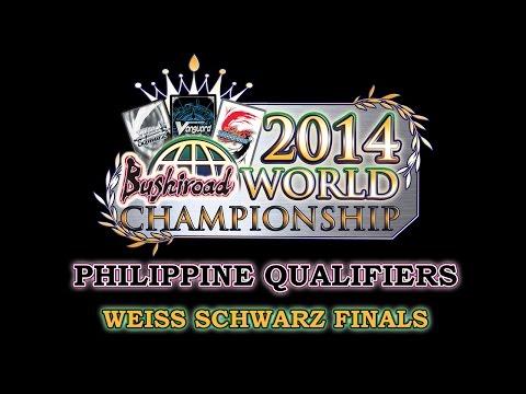 Weiss Schwarz Asia-Oceania Championship Philippine Qualifiers 2014 Finals