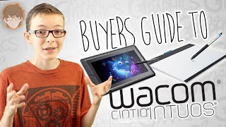 Buyer's Guide to Wacom Tablets! - Quick Tips Episode 2