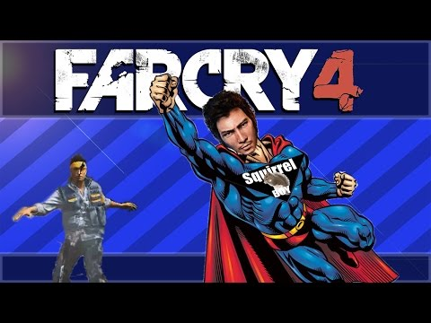 Far Cry 4 Funny Moments- Stopping Pollution, Squirrel Boy, How To Kill A Rhino!