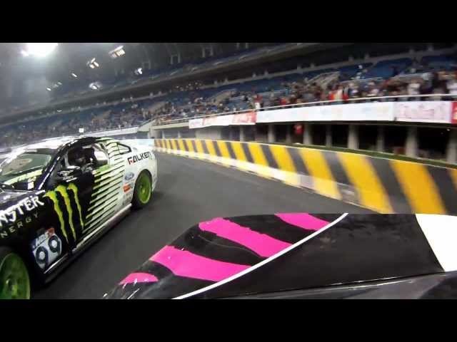 Vaughn Gittin Jr. takes the win at WDS China