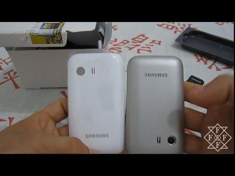 Galaxy Y GT-S5360  - Oque Vem na Caixa?