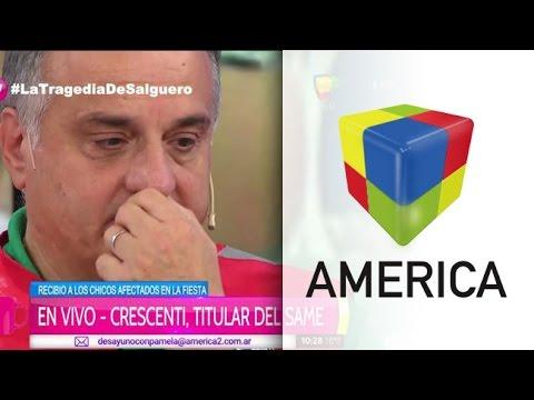 El llanto de Alberto Crescenti: Hay que besar a los chicos y no ver sus camas vacías