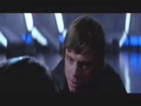 Luke removing Darth Vader's Mask (FUNNY)
