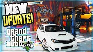 GTA 5 DLC UPDATE! NEW SPORTS CARS IN MOD SHOP ! (GTA 5 ONLINE DLC GAMEPLAY)