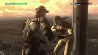 MGS4 - Solid Snake vs. Liquid Ocelot
