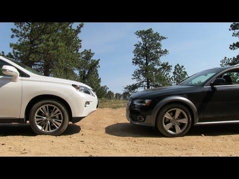 2013 Audi Allroad vs Lexus RX 350 Off-Road Mashup Drive & Review