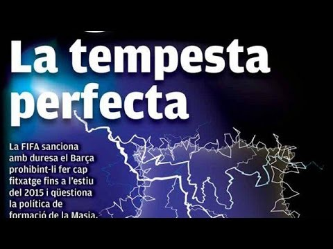 """'The perfect storm for Barcelona' -€"""" James Richardson's European football papers video review"""