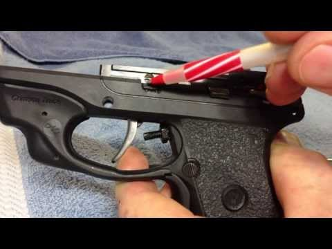 Ruger LC9 Install of NEW Galloway 35% Trigger Bar