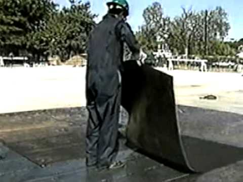 Bituthene 174 Self Adhesive Waterproofing Membrane Youtube