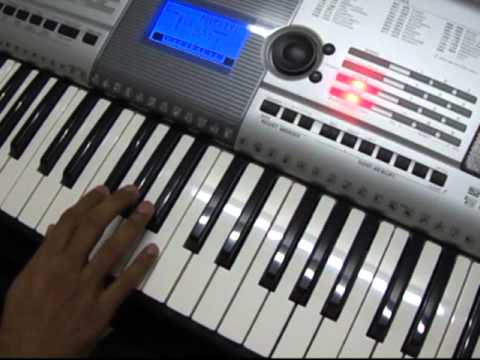 Play in Keyboard - Hindi - Falguni Pathak - Maine Payal Hai...
