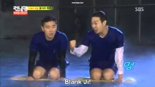 137 Running Man funny moment - Song Ji Hyo / Miss Mong (Blank Ji)