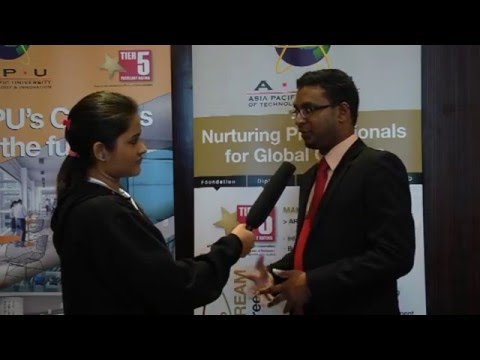 Asia Pacific University Malaysia - Jaheen  - Singapore and Malaysia Education Expo 2015