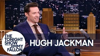 Hugh Jackman Celebrates Hot Christmas in Australia by : The Tonight Show Starring Jimmy Fallon