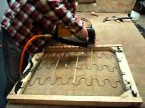Upholstery springs repair