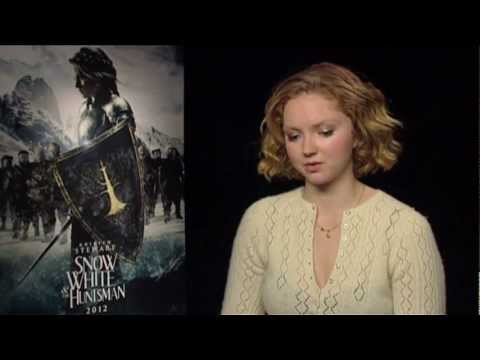 Lily Cole Snow White and the Huntsman Interview on Fun Kids