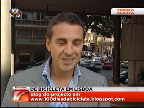 100 dias de bicicleta em Lisboa - SIC - Terra Alerta