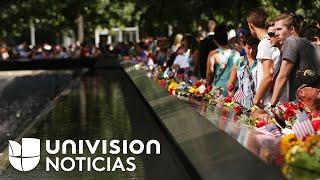 Entre dolor y lágrimas se escucharon los nombres de las víctimas del 9/11