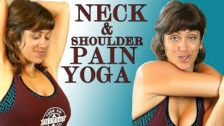 Neck & Shoulder Pain Relief Exercises & Yoga Stretches Jen Hilman