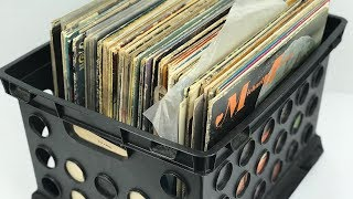 WHAT VINYL WILL WE FIND IN THIS GARAGE SALE RECORDS CRATE HAUL?