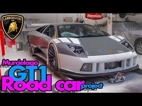 GT1 Lamborghini Murcielago road car project update - Part 12