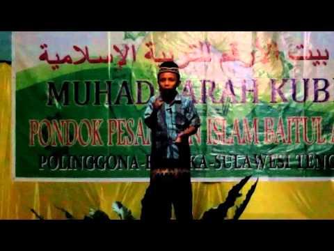 Ceramah Bahasa Buton Muhadhoroh Kubro Yapiba 2015