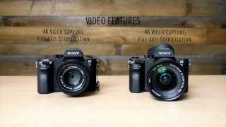 Hands-on Sony A7SII and A7RII - Which is best for Photo or Video?