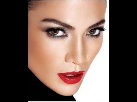 Jennifer Lopez Dramatic Makeup