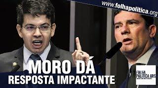 Senador Randolfe critica Sergio Moro por ter se tornado ministro de Bolsonaro e recebe resposta i..