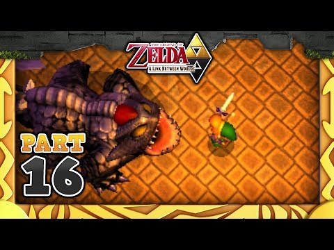The Legend of Zelda: A Link Between Worlds - Part 16 - Dark Palace!