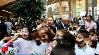 En Renkli Rekoru Z.Burnulu Çocuklar Kırdı