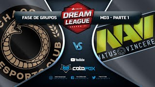 [PT-BR] Chaos Esports Club vs Natus Vincere - DreamLeague 11 - Dota 2 Major !cold