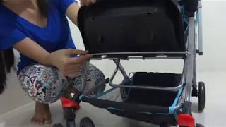 IRDY Stroller code S0829A - How to use leg rest