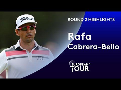 Rafa Cabrera-Bello | Round 2 | 2019 Mutuactivos Open de España