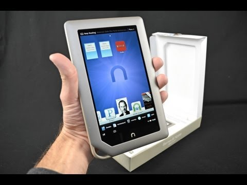 Barnes & Noble Nook Tablet: Unboxing and Review