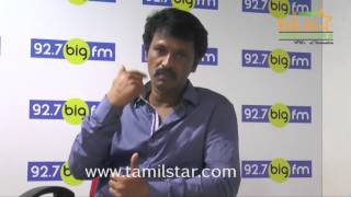 Director And Actor Cheran At BIG FM