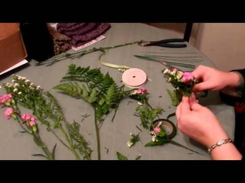 How to Make a Corsage- Homework video