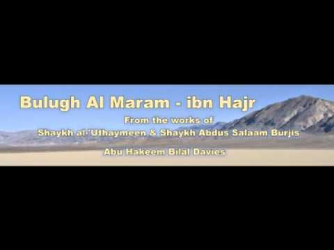 Bulugh Al maram 5th class chapter of purification/ Explained by Shaykh