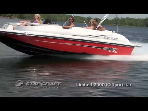 2013 Starcraft Limited 2000 IO Sportstar
