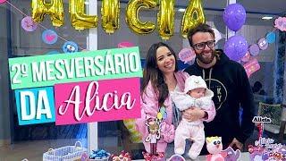 2º MESVERSÁRIO DA ALICIA