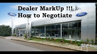 How I Worked Around Dealer Markup / ADM on GT350 Shelby || tips on purchasing a car