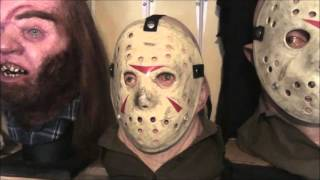 jason voorhees part 3 friday the 13 with 2 masks vendredi 13