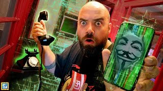 Tricked by Game Master Secret Phone Call - Exploring Mystery Mansion!!