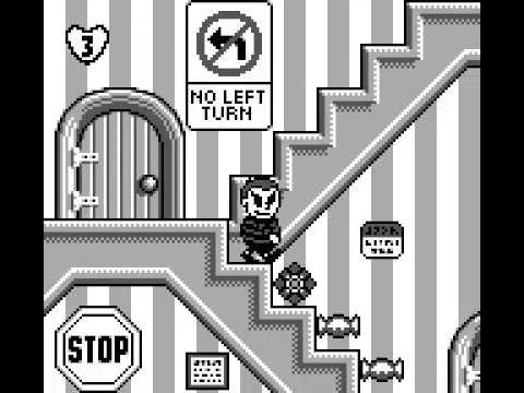 Game Boy Longplay [180] The Addams Family: Pugsley's Scavenger Hunt