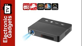 RD - 601 Smart 3D Mini Android Projector with DLP Technology, 1080p