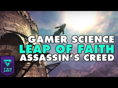 Gamer Science : Could you Survive the Leap of Faith? (Assassin's Creed)