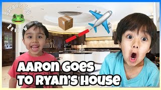 I MAILED MYSELF IN A BOX TO RYAN'S TOY REVIEWS HOUSE! (IT WORKED)