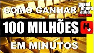 GTA V Online - Glitch DINHEIRO INFINITO ( 100 Milhões em Minutos )