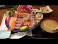 大食い→割烹さいとうでメガ海鮮丼大盛りを食べた。