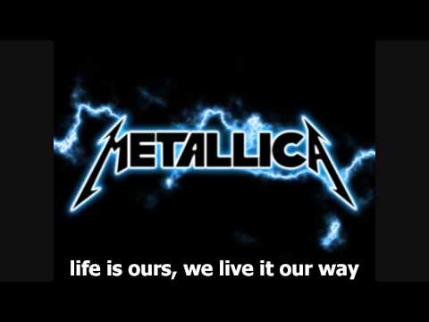 Metallica - Nothing Else Matters [lyrics] video